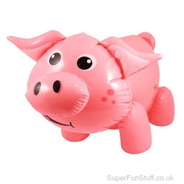 Inflatable Pigs   Blow Up Farm Animal Toy for Kids